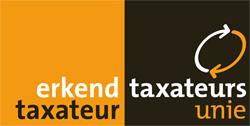 Taxateurs unie logo erkend taxateur